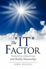 "The ""It"" Factor by Russell, John  New 9781613790991 Fast Free Shipping,,"