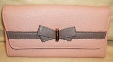New Jessica Simpson Linea Wallet Blush Pink JS14431