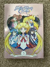 Sailor moon Crystal Vol 3 DVD English Dub