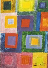 """Arte post mapa Bauhaus-Johannes comunidades """"variation frío-caliente"""""""