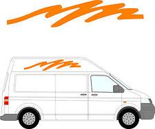 75 - Van Aménagé Graphique, Camping-car Vinyle Kit Décoration / Autocollants