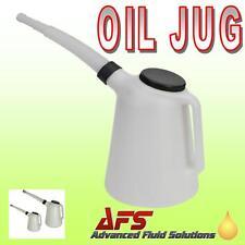 5 Litros Aceite Jug Medición Fluido Combustible Aceite Recipiente Boquilla