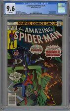 Amazing Spider-Man #175 CGC 9.6 NM+ Wp Marvel 1977 Punisher & Death of Hitman