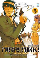 manga STAR COMICS  MIRAI NIKKI numero 5