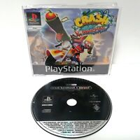 Crash Bandicoot 3: Warped ~ PlayStation PS1 Full Game Promo ~ PAL *Very Good*