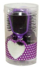 5 Piece Hairbrush Set Kids Brush, Comb, etc New Child Purp