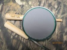 """2 Sided Turkey call. """"Slate and Glass"""" includes hickory and carbon strikers"""