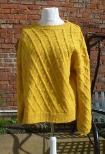 XL Size 20-22 mustard, golden yellow, soft knit pullover, jumper, George