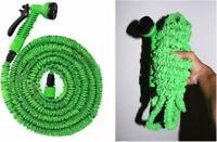 Tuyaux arrosage extensible rétractable vert 30 metres + pistolet