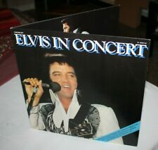 ELVIS PRESLEY-ELVIS IN CONCERT- 2LPS- NEAR MINT FIRST ITALY PRESS