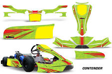 AMR Racing Kart Graphics Decal Sticker Kit KG FP7 Pods Faring Spoiler CONTENDER