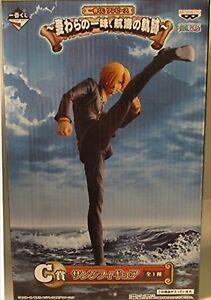 ONE PIECE SANJI Ichiban kuji High kick PVC Figur Banpresto Japan USED JP