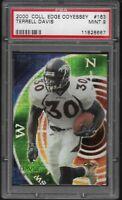 2000 Collector's Edge Odyessey Terrell Davis Denver Broncos #163 PSA 9 MINT