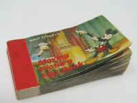 Disney Moving Picture Flip Book Mickey Magician Magic Donald Duck