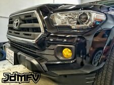 16-19 Tacoma PreRunner Precut Yellow Fog Light Overlays Tint Wrap JDM