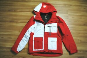 WOMENS DESCENTE SWISS INNSBRUCK 2012 YOUTH OLYMPIC GAMES (YOG) JACKET SIZE SMALL