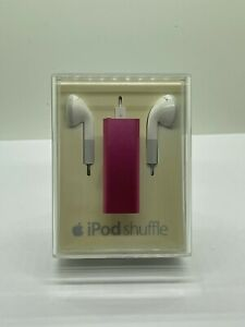 Apple iPod Shuffle 3. Generation Pink Rose 2GB New Collector Sealed