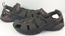 Teva Mens Dozer III Sport Sandals Water Shoes Coffee Brown 4154 Mint! Sz 12/45.5