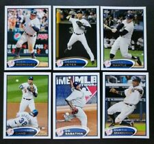2012 Topps NEW YORK YANKEES Complete Team Set Series 1 & 2 w/ Updates 53 cards