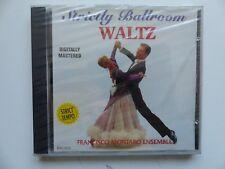 CD FRANCISCO MONTARO ENSEMBLE Strictly ballroom waltz   BAL003
