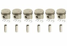 Set of 6 Engine Pistons with Rings OEM MAHLE Brand New for Mercedes Benz