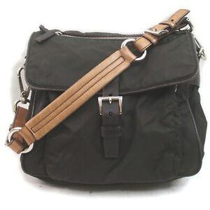 Prada Shoulder Bag  Browns Nylon 1714393