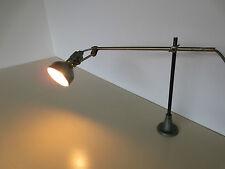 Alte Rademacher Gelenkleuchte SCHREIBITISCHLAMPE Industrielampe ART DECO Bauhaus