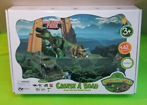Dino Track Park Create A Road Playset with 142 Track Piece (New in box)