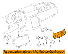 Chevrolet GM OEM Impala-Climate Control Unit Temperature Fan Heater A/C 20972894