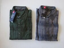 Under Armour Men's Borderland Flannel Long Sleeve Button Up Shirt NWT!!!