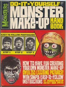 1965 Famous Monsters - Do It Yourself Monster Make-Up Handbook - Rare! Very Nice