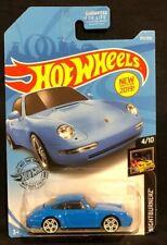 Hot Wheels Blue '96 Porsche Carrera 1/64 Diecast Nightburnerz 4/10 New 2017