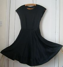 BNWT Womens Ted Baker 100% Black Silk Dress UK 6  or small 8 RRP £210