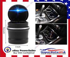 LED Ashtray Auto Car Ash Cylinder Cup Holder Portable Vehicle Ashtray for BMW