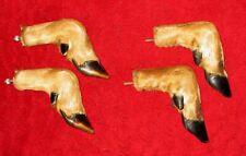 Taxidermy Whitetail Deer Hooves 2 Sets / Hunting / Hanging Racks