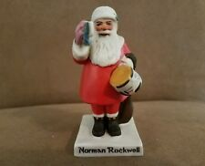 Norman Rockwell Santa With Drum Nrc-224 Made in Japan