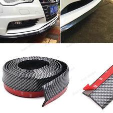 """PU Carbon Fiber 98"""" Front Bumper Lip Splitter Spoiler Chin Lip Skirt For Honda"""