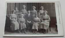 RPPC BURNLEY LANCASHIRE HOUSE STAFF PHOTOGRAPH ? BY W.W. SMITH YORKSHIRE St.