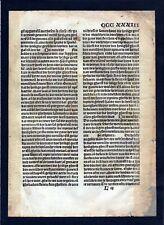 1499 Blatt CCCXXXIII Inkunabel Vita Christi Zwolle incunable Dutch Holland