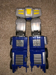 Transformers 20th Anniversary MP-1 Optimus Prime Leg Assembly W/ Screw For Torso
