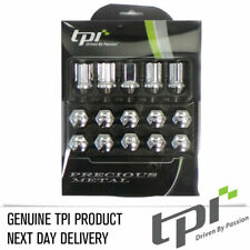 TPi XR Steel Wheel Nuts & Locks Chrome 12x1.50 MX5