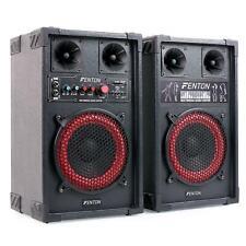 [OCCASION] SET AMPLIFIE 2X HAUT PARLEUR SONO DJ PA ENCEINTES HIFI KARAOKE USB SD