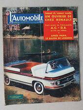 L AUTOMOBILE  - MAGAZINE  MENSUEL N° 127 - NOVEMBRE 1956 *