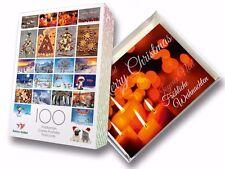 """100-er Postkarten-Box """"WEIHNACHTEN"""" für Firmen-Kunden, Postcrossing o. Sammler"""