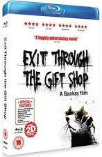 EXIT THROUGH THE GIFT SHOP - *BRAND NEW BLU RAY*