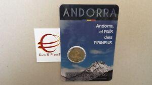 2 euro 2017 fdc Andorra Andorre андорра Pirenei Paìs Pirineus 安道尔 Andora