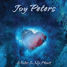 Joy Peters - Winter In My Heart 12'' MAXI Italo-disco Blue Transparent