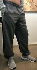 Nike Elastic Drawstring Ankle Dri-Fit Pant (Men's)- Light Grey - Size M