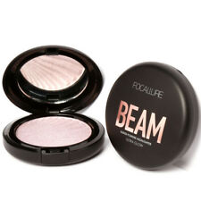 FOCALLURE New 4 Colors Ultra Glow Beam Highlighter Palette Powder Makeup