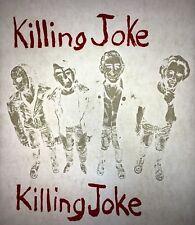 Killing Joke Memorabilia 70s 80s, vintage retro tshirt transfer print new, NOS